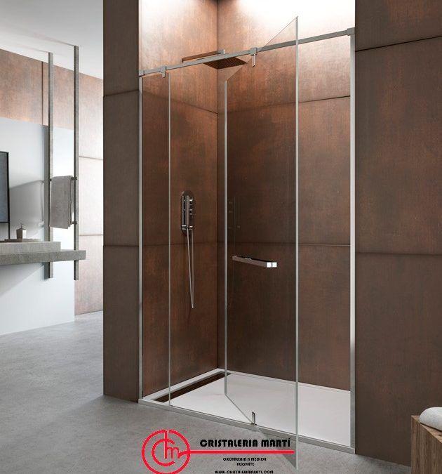Mampara de ducha con Puerta de 360°