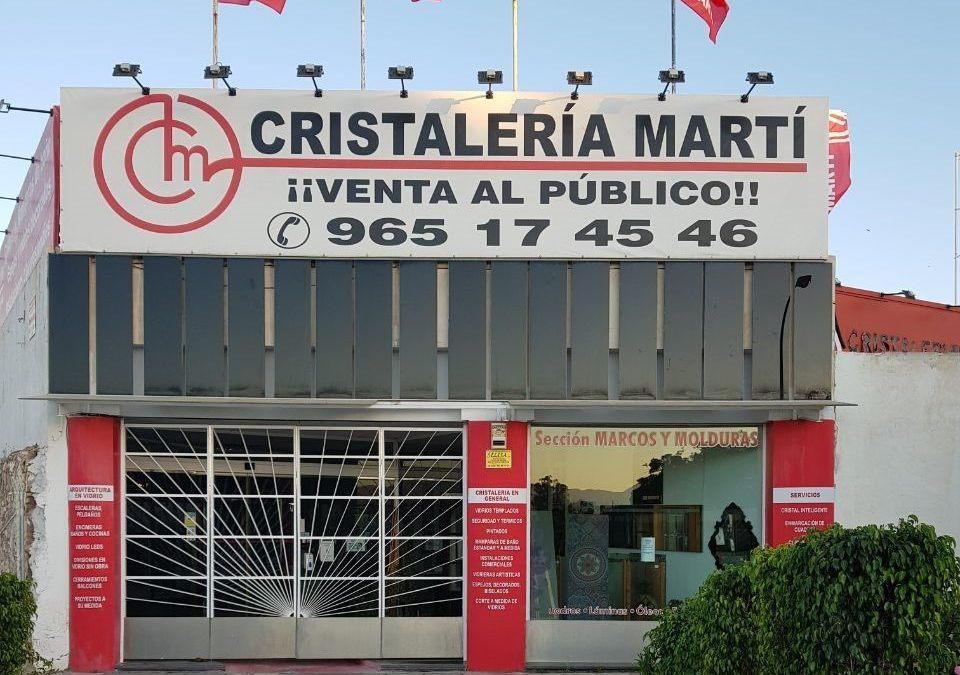 Nueva Exposición en Cristalería Martí Alicante